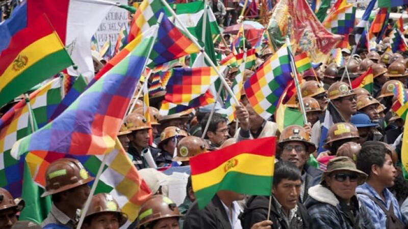 Risultati immagini per Bolivia Marcha indigena