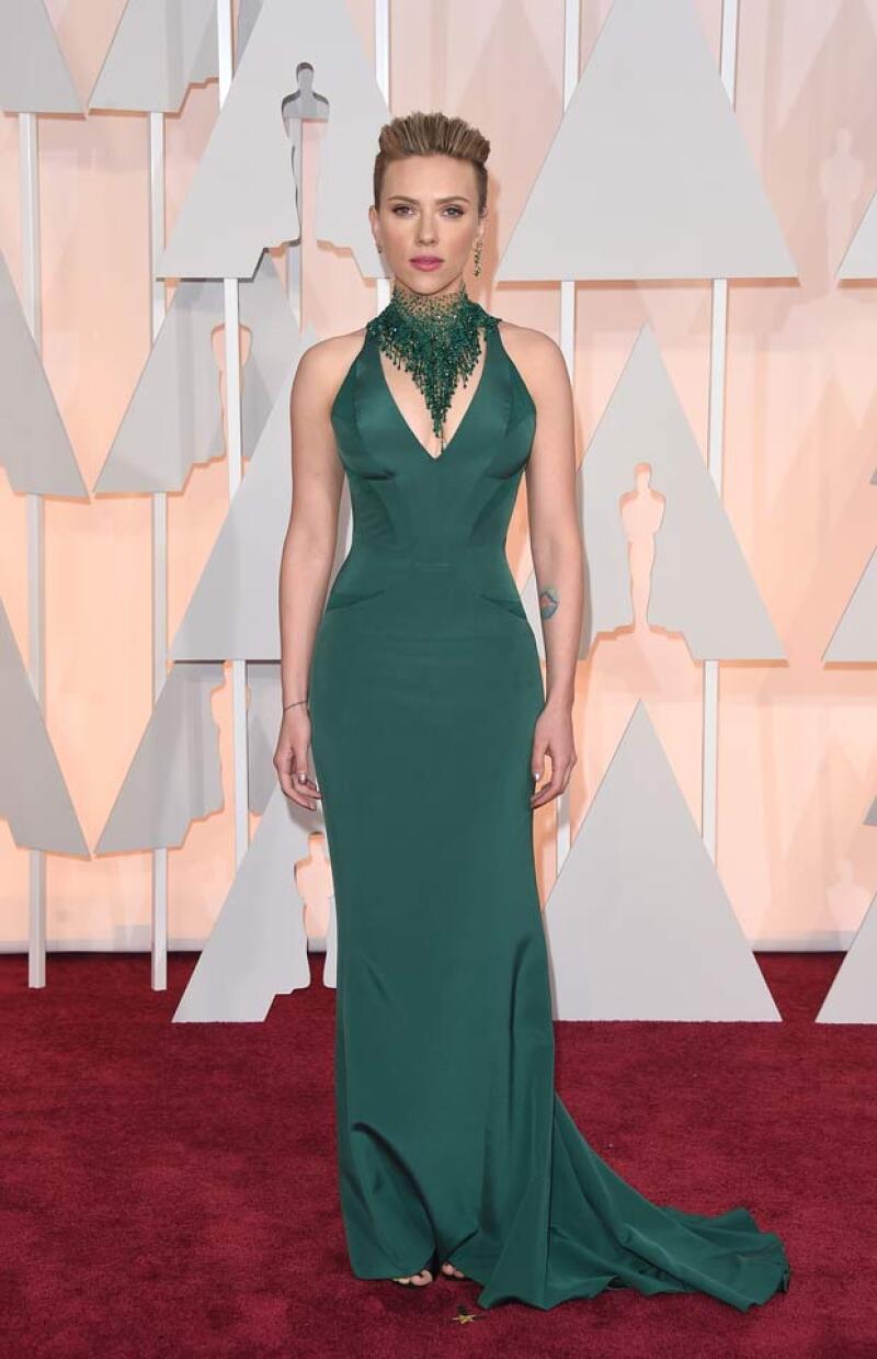 En los Oscar la actriz acaparó toda la atención al ser catalogada como una de las mejor vestidas de la noche.