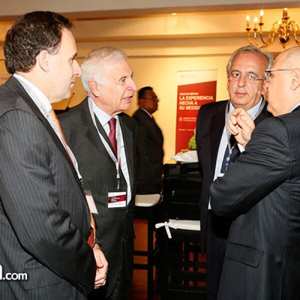 Carlos Cannizzo,Roberto Cannizzo,Salvatore Briano y Raoul Ascari