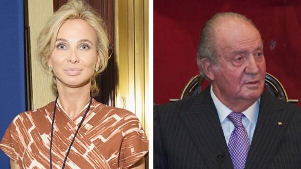 Corinna Larsen y Juan Carlos de España