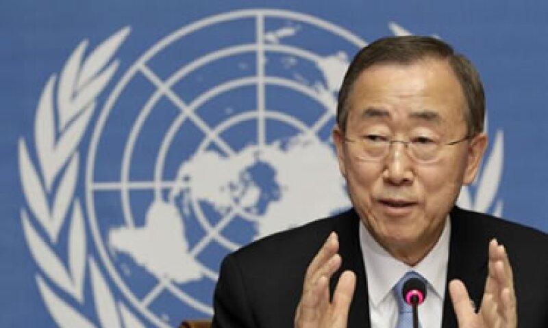 La prolongada crisis económica mundial ha comenzado a afectar la cooperación internacional para el desarrollo, dijo Ban Ki-moon. (Foto: Reuters)
