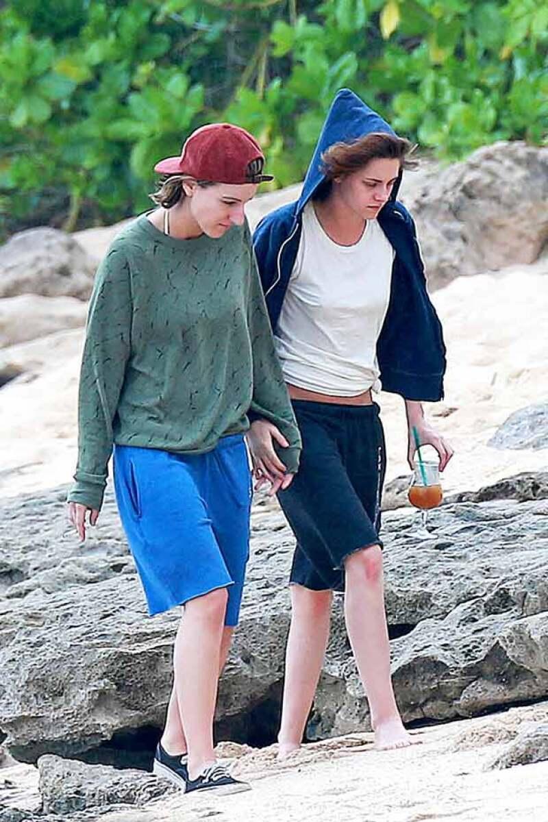 Las amigas llegaron a Hawai para disfrutar un poco de la playa.