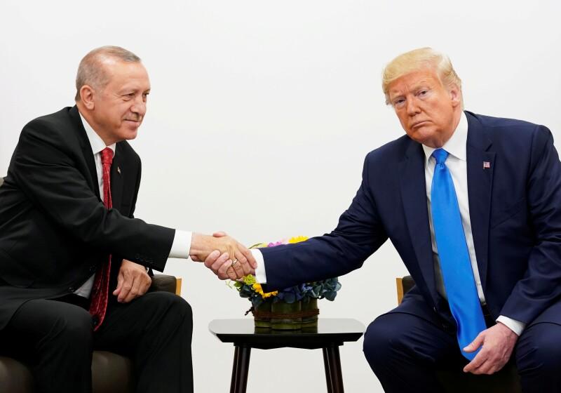 Trump y Erdogan