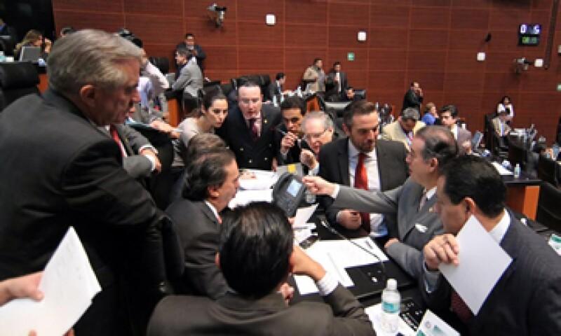 El Pleno del Senado inició la discusión de las leyes secundarias el pasado jueves. (Foto: Notimex)
