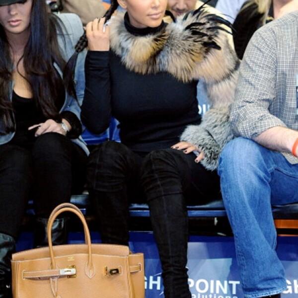 Kim Kardashian es una de las fanáticas del bolso Birkin de Hermés.