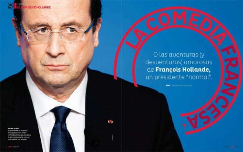 El presidente de Francia en el sótano de la popularidad, ahora enfrenta un caso qeu cuestiona la eterna separación entre la vida pública y privada.