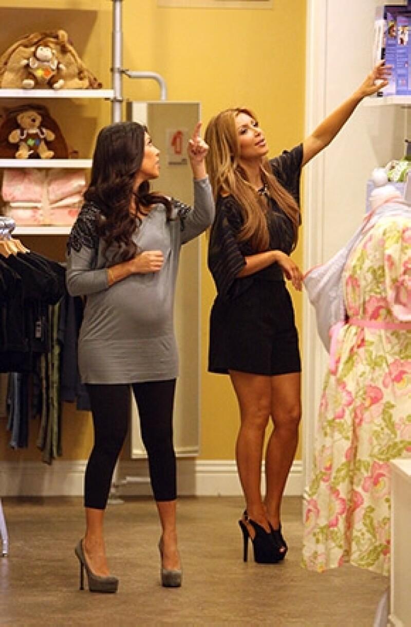 La marca Bel Bambini dará el mismo trato al bebé de Kim Kardashian que al de Kate Middleton.