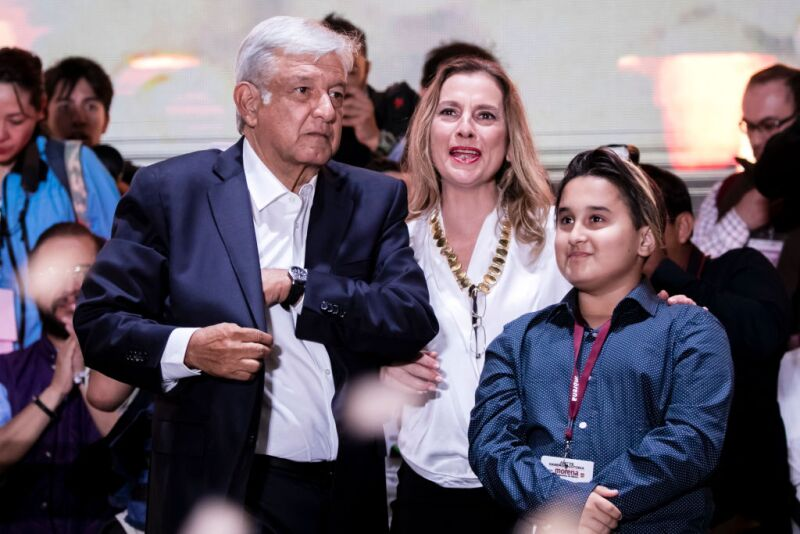 Andres Manuel Lopez Obrador : Election In Mexico