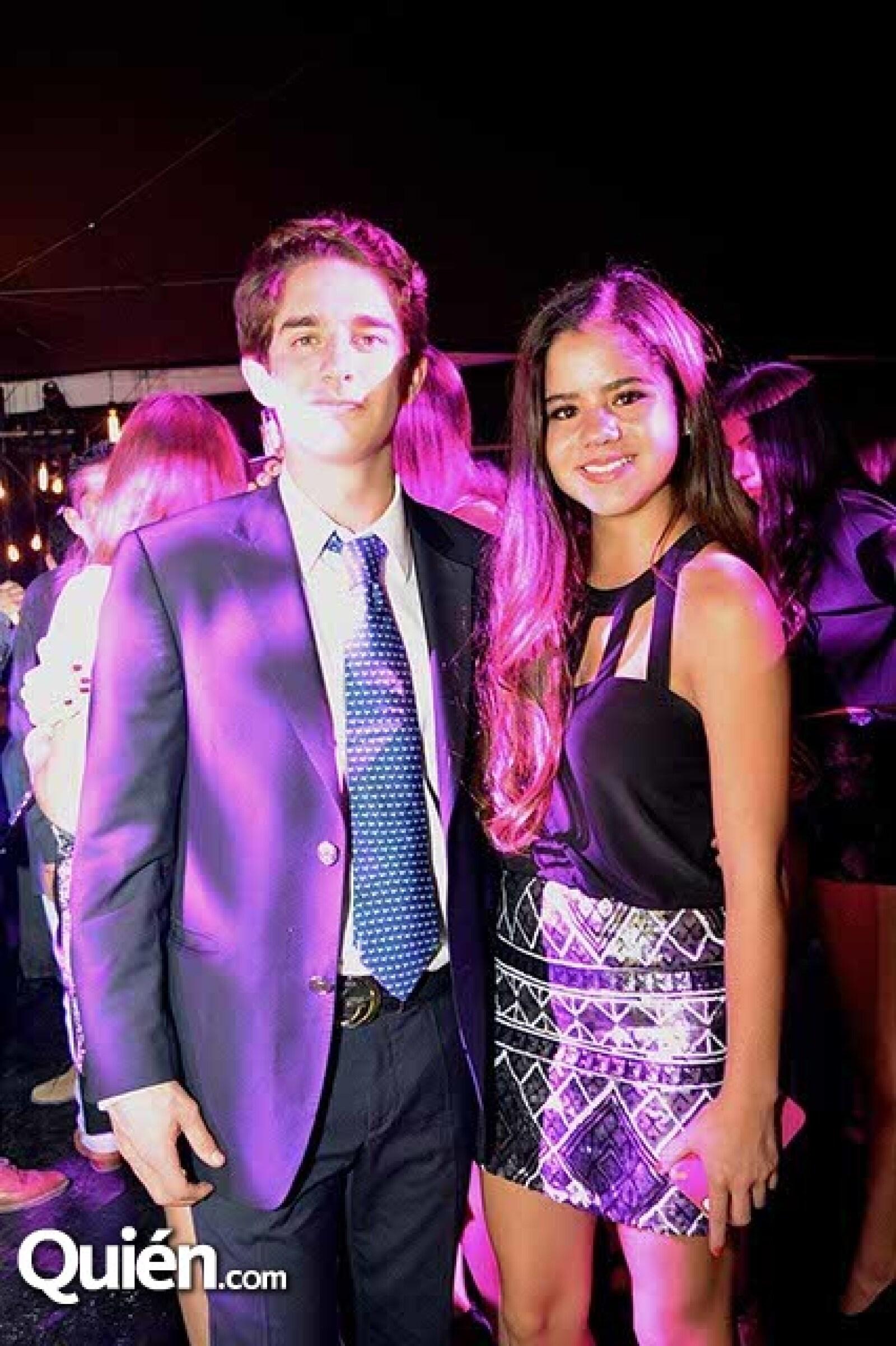 Alfredo Castro y Marion Justel.