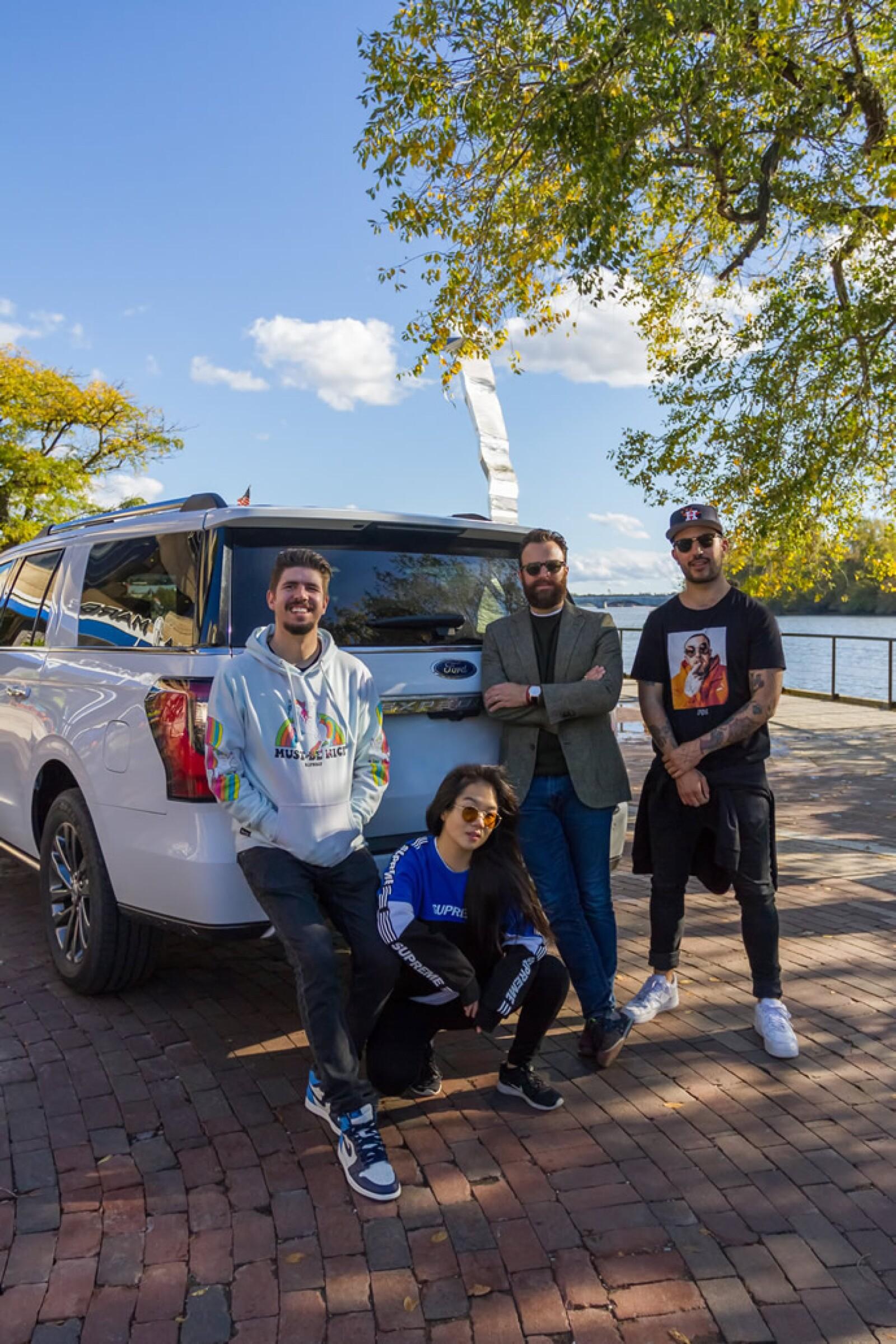 Llegamos a Washington donde una Ford Expedition ya nos esperaba para comenzar nuestra aventura.