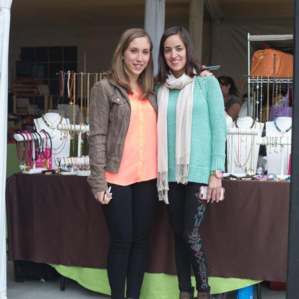 Paulina Trejo y Regina Calzada