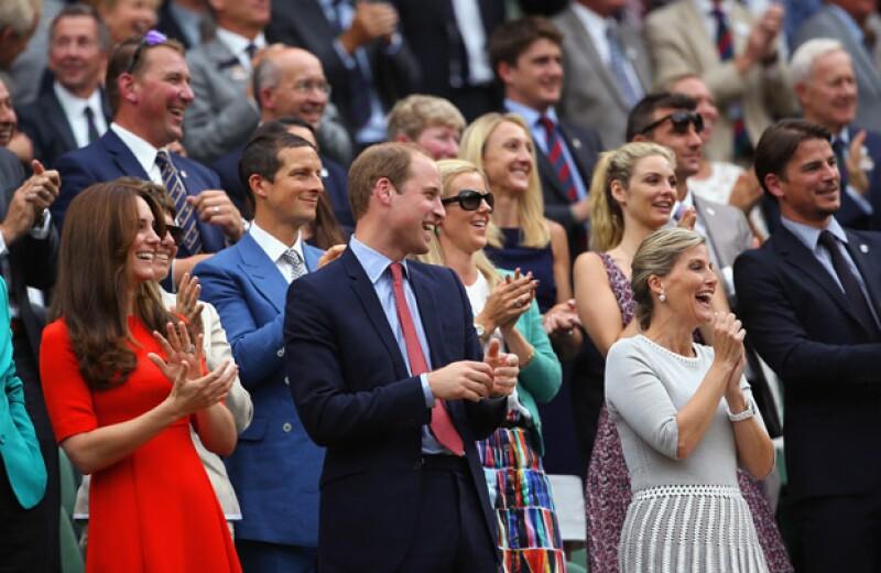 Los royals ingleses pasaron un rato agradable en Wimbledon, donde vieron ganar a Andy Murray.