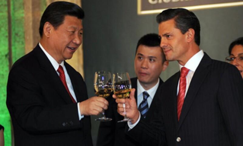El presidente Enrique Peña Nieto visitará en China a su homologo Xi Jinping en noviembre de este año. (Foto: Notimex)