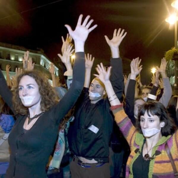 España - protestas