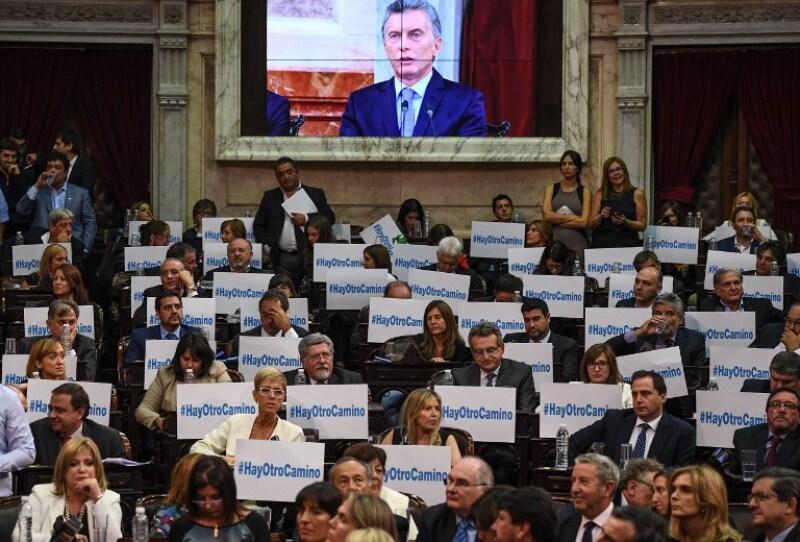 Mauricio Macri Argentina Parlamento