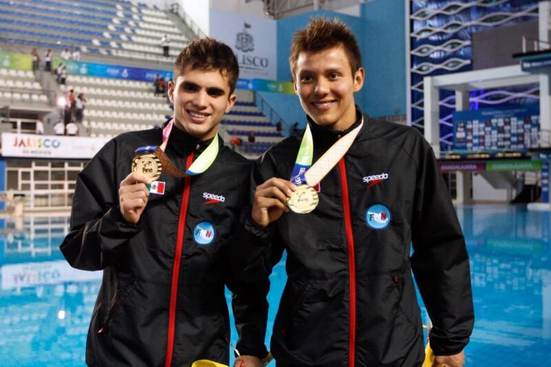 Germán Sánchez (derecha)