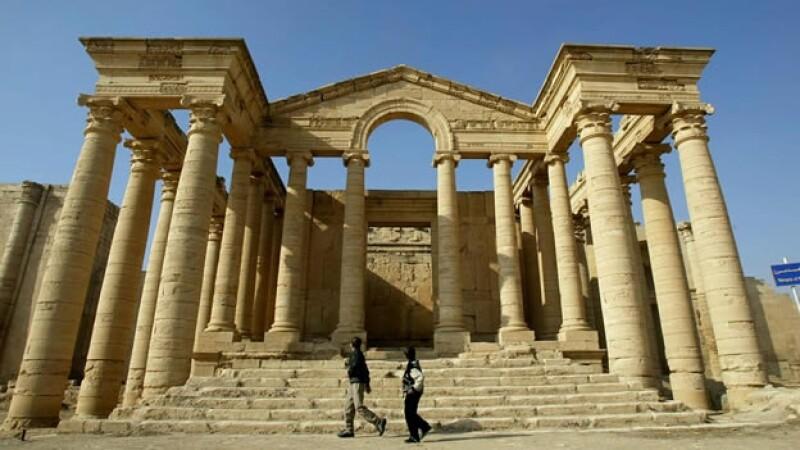 Hatra Iraq herencia cultural