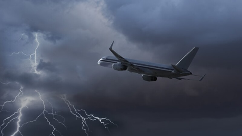 turbulencia avion vuelo