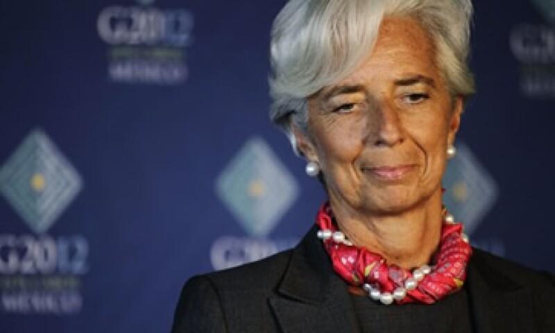 La directora gerente del FMI, Christine Lagarde, cree que debería reafirmarse un paso decidido hacia una unión monetaria completa en Europa. (Foto: Reuters)