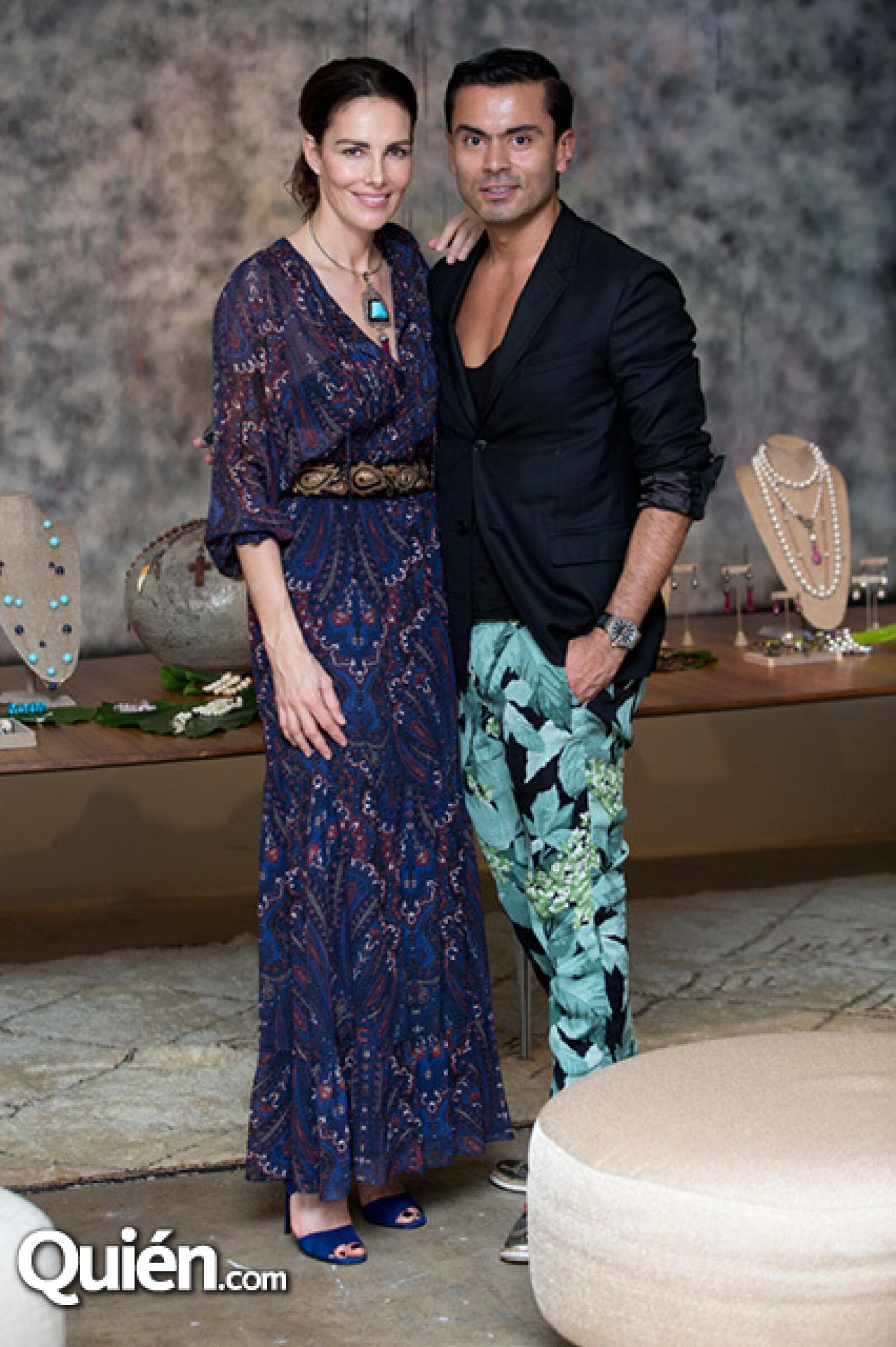 Adriana Abascal y Jorge Ríos