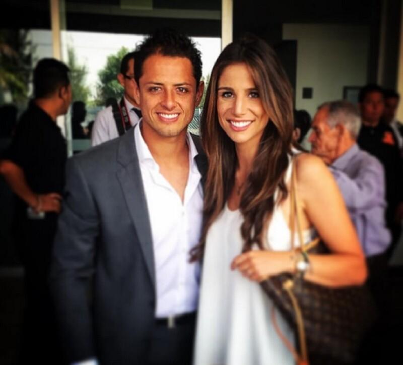 El futbolista está muy enamorado de Lucía Villalón y no intenta ocultarlo.