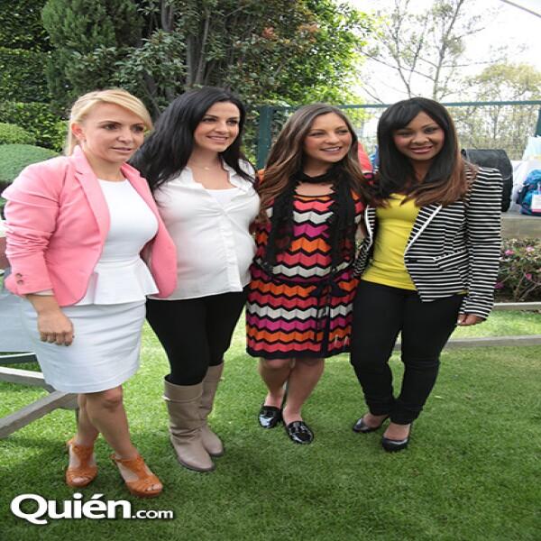 Erika Saba,Lidia Avila,Mariana Ochoa,M´Balia Marichal