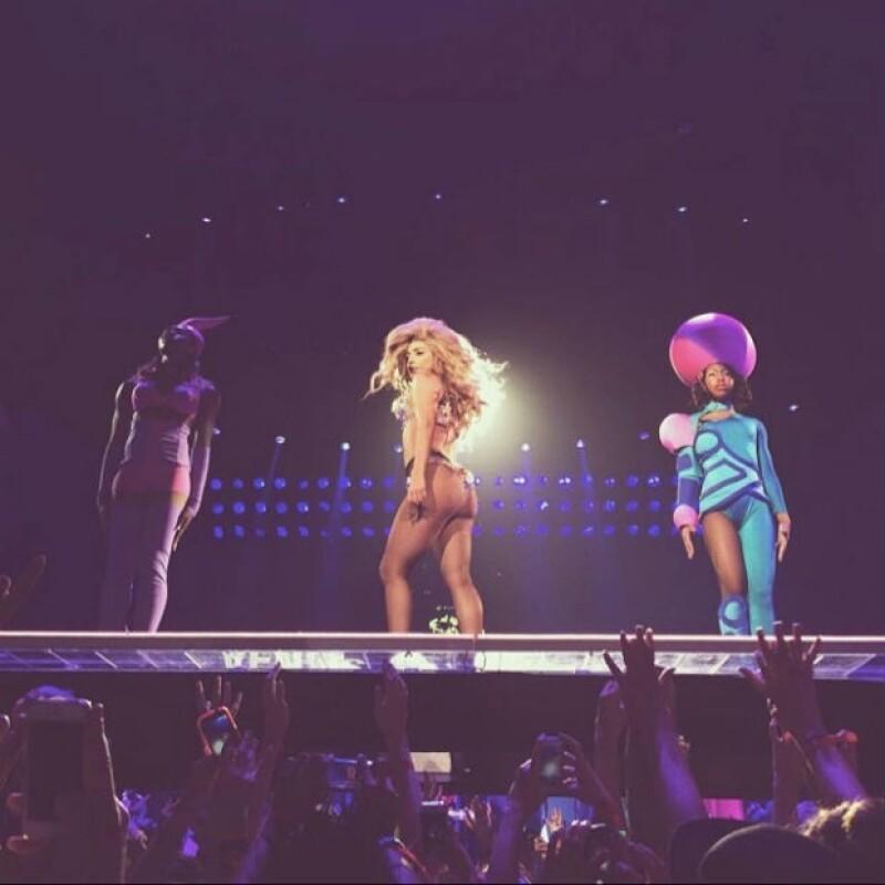 Lady Gaga se encuentra de gira por todo Estados Unidos.