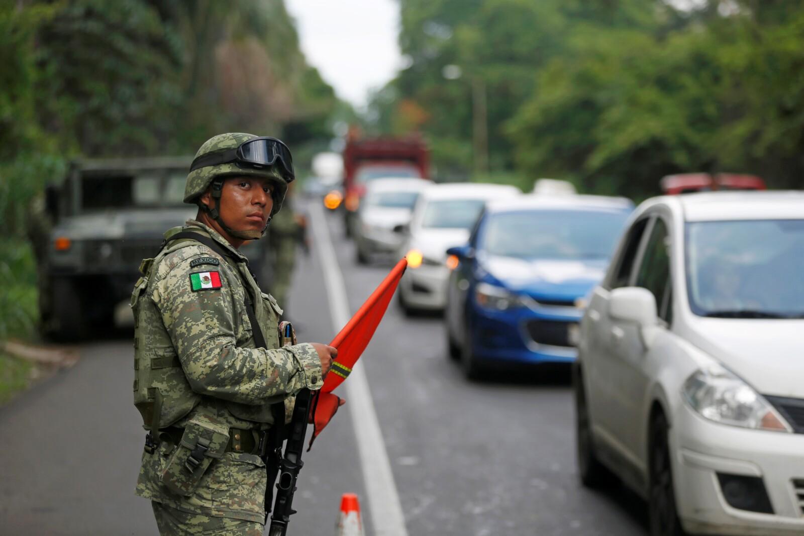 Policía militar.