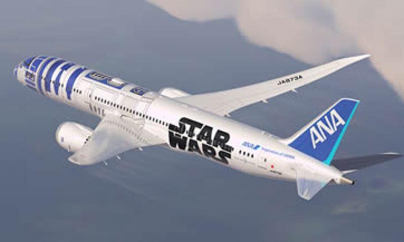 La aerolínea difundió imágenes del avión 'galáctico'. (Foto: Tomada de ana-sw.com )