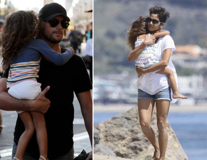 Hoy la corte ordenó que la actriz le de mensualmente a su ex esposo Gabriel Aubry la cantidad de 20 mil dólares para la manutención de su hija Nahla.