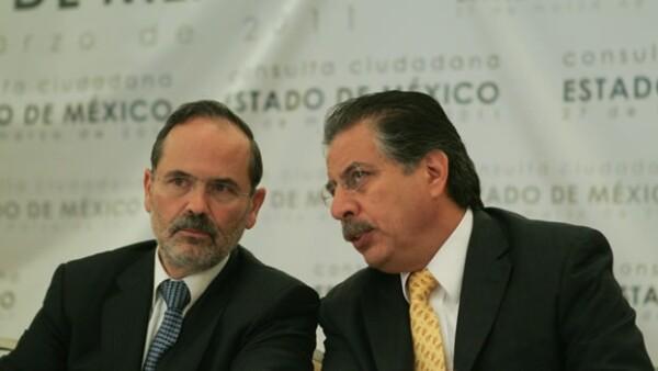 Los líderes del PAN y el PRD presentan la consulta en el Estado de México