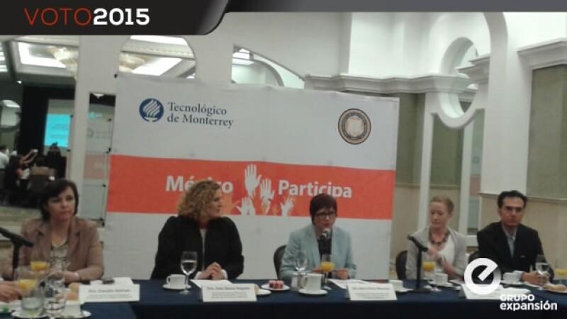 presentación de la plataforma México Participa