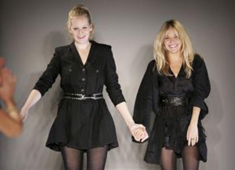 La actriz presentó su primera colección Otoño-Invierno 2009 para la firma 'Twenty8Twelve' durante la Semana de la Moda en Londres.