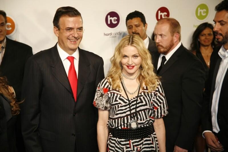Cuando Madonna inauguró su gym en 2010.