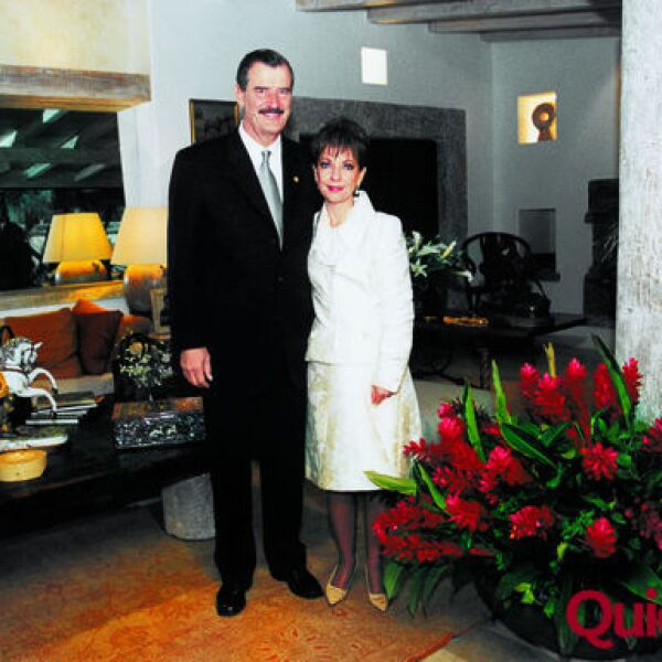 Vicente Fox, Martha Sahagún