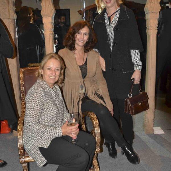 Gabriela Delgado, Claudia Azpiri y Regina Márquez