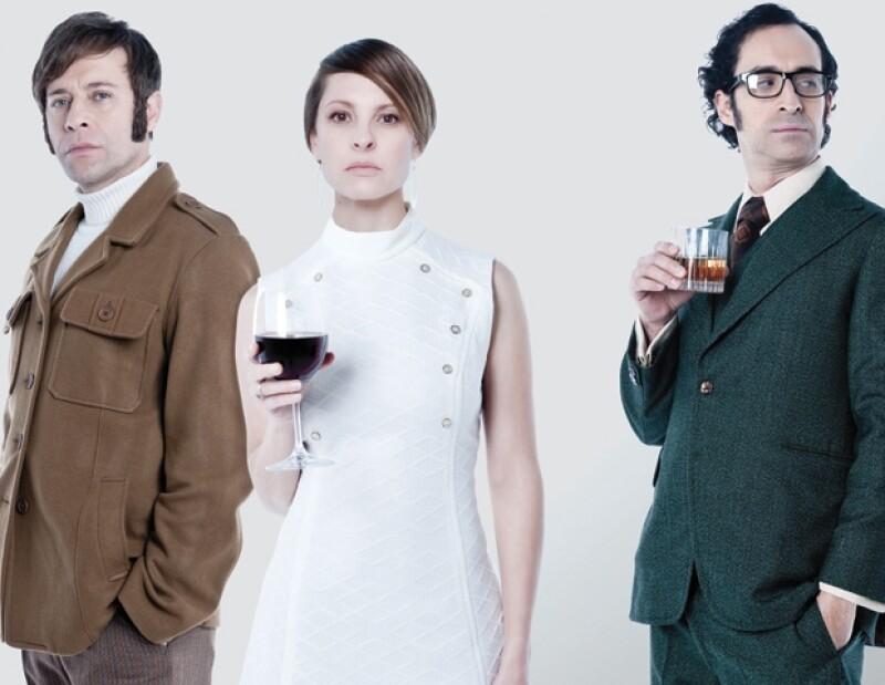 El actor junto con Marina de Tavira y Juan Manuel Bernal protagonizan la obra `Traición´.