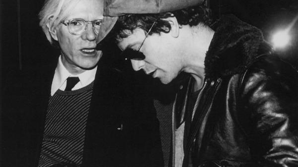 Andy Warhol y Lou Reed