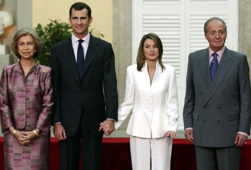 Dicen que el rey Juan Carlos no quiere a su nuera.