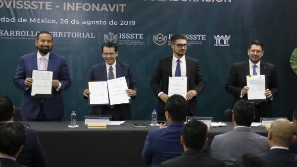 Convenio Infonavit-Fovissste