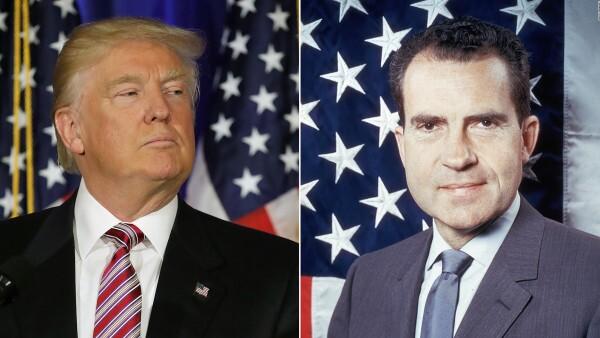 ¿Hay similitudes en el proceder de Trump con el de Nixon?