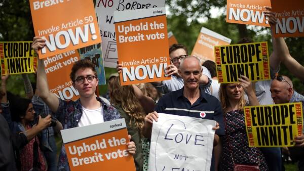 El gobierno del Reino Unido ya rechazó una petición para un segundo referéndum.