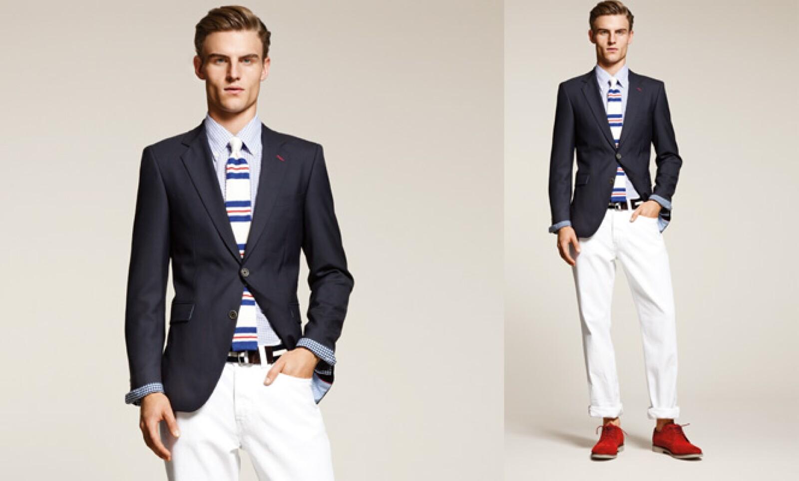 El diseñador estadounidense presentó su propuesta casual y elegante para la temporada primavera-verano de este año.