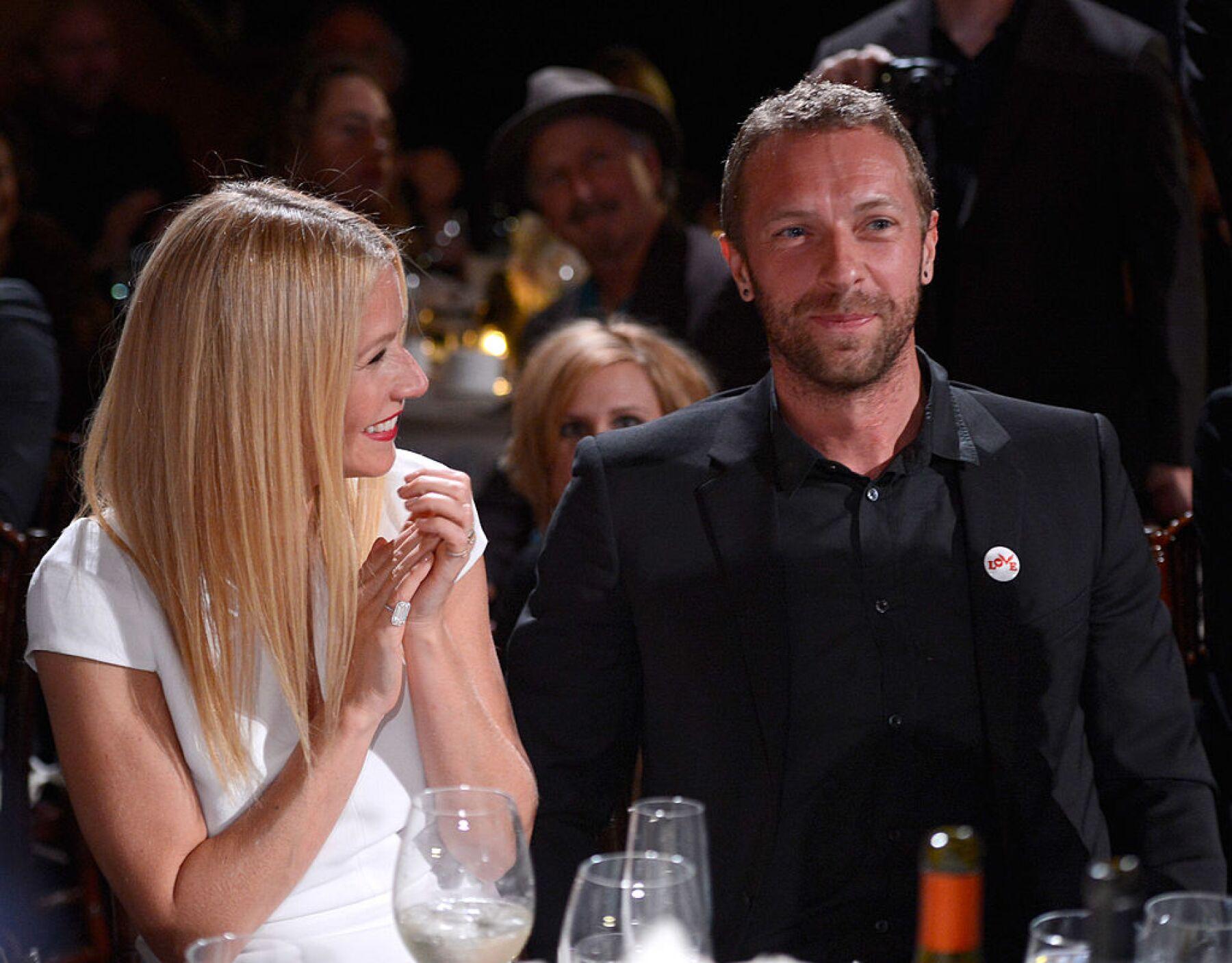 Gwyneth Paltrow y Chris Martin.