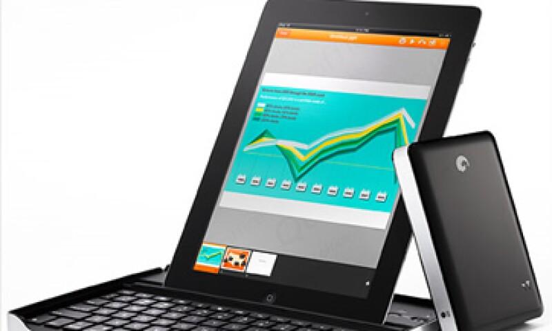 Puedes almacenar tu trabajo en la iPad o usar servicios en línea como Google Docs y Dropbox. (Foto: Cortesía CNNMoney)
