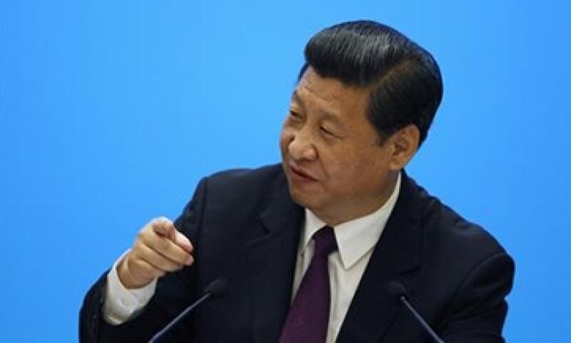 El presidente chino, Xi Jinping busca el reparto justo de la riqueza y menor impacto al ambiente.(Foto: Reuters)