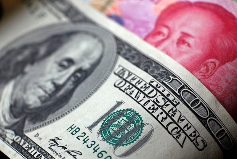 China moneda yuan guerra comercial