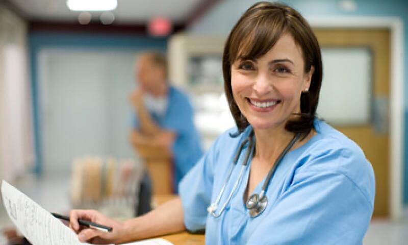 En México nueve de cada 10 profesionales de enfermería son mujeres. (Foto: Thinkstock)