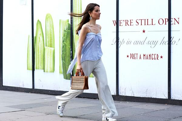 Street Style, Spring Summer 2019, London Fashion Week Men's, London, UK - 09 Jun 2018