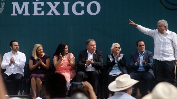 AMLO en Morelos